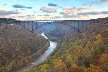 New River Gorge Photo, Representing the Natural Resources in West Virginia and How a WV Mineral Rights Attorney Can Help Businesses
