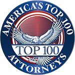 America's Top Attorneys Logo, Symbolizing the Selection of David K. Hendrickson for Product Liability Lawyer Litigation