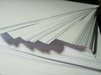 Image of a Stack of Paper, Representing the Extensive Work Done by a WV Insurance Defense Lawyer in Compliance, Coverage, and Litigation Issues When Defending Insurers in West Virginia (WV), Kentucky (KY), or Pennsylvania (PA)