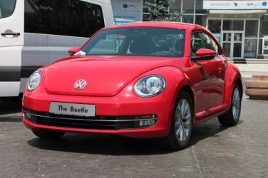 Photo of a Volkswagen Beetle, One of the Models Equipped with a Defeat Device that Spawned Multiple Lawsuits over Emissions Test Fraud. Shows an Example of How the WV Volkswagen Emissions Attorneys at Hendrickson & Long, PLLC Can Help ou Learn about and Pursue Your Emissions Test Fraud Claim.